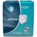 BRIEF ATTD UNDERWEAR XL 14EA/PK 4PK/CS ATTENDS
